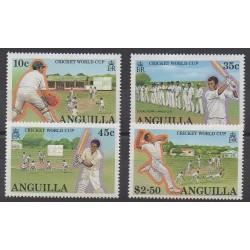 Anguilla - 1987 - No 698/701 - Sports divers