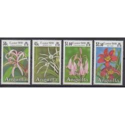 Anguilla - 1988 - No 710/713 - Fleurs