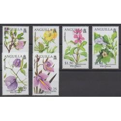 Anguilla - 2009 - No 1104/1109 - Fleurs