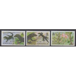 Anguilla - 2010 - No 1116/1118 - Reptiles