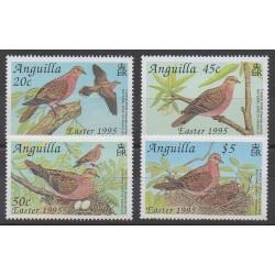 Anguilla - 1995 - No 858/861 - Oiseaux