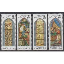 Anguilla - 1994 - No 845/848 - Pâques