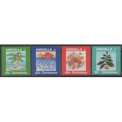 Anguilla - 1995 - No 872/875 - Noël