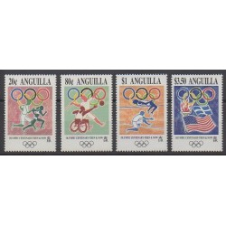 Anguilla - 1996 - No 883/886 - Jeux Olympiques d'été
