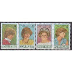 Anguilla - 1998 - No 911/914 - Royauté - Principauté