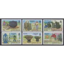 Anguilla - 2009 - No 1110/1115 - Artisanat ou métiers