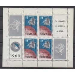 Romania - 1969 - Nb BF74 - Space