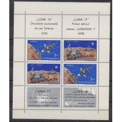 Romania - 1971 - Nb BF84 - Space