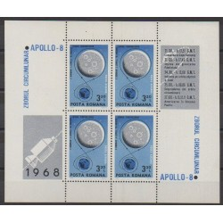 Romania - 1969 - Nb BF70 - Space