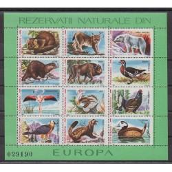 Romania - 1987 - Nb BF192 - Animals