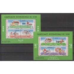 Roumanie - 1988 - No BF196A/BF196B - Sports divers