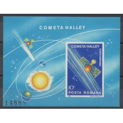 Romania - 1986 - Nb BF180A - Astronomy