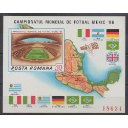 Roumanie - 1986 - No BF183A - Coupe du monde de football