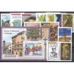 Andorre - Année complète - 2014 - No 748/762