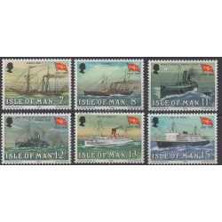 Man (Ile de) - 1980 - No 159/164 - Bateaux