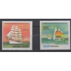 Portugal - 1982 - Nb 1537 et 1539 - Boats