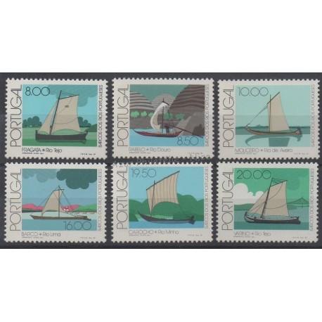 Portugal - 1981 - Nb 1494/1499 - Boats