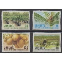 Vanuatu - 1987 - No 759/762 - Fruits ou légumes