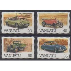 Vanuatu - 1987 - Nb 755/758 - Cars