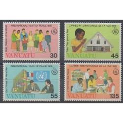 Vanuatu - 1986 - Nb 751/754