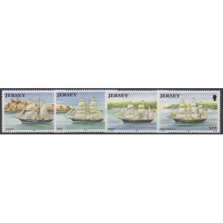 Jersey - 1992 - No 568/571 - Bateaux