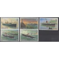 Jersey - 1989 - Nb 485/489 - Boats