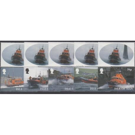 Man (Ile de) - 1999 - No 838/842 - Bateaux