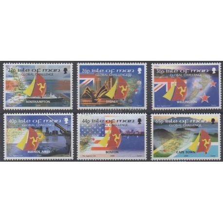 Man (Ile de) - 2000 - No 922/927 - Bateaux