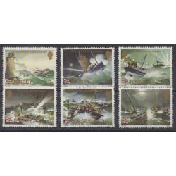 Jersey - 1984 - No 318/323 - Bateaux