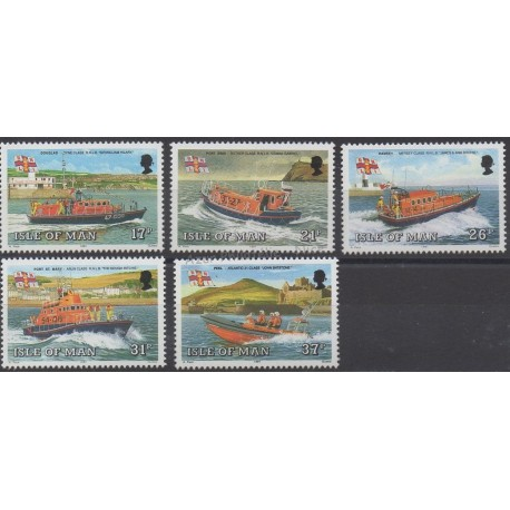 Man (Isle of) - 1991 - Nb 493/497 - Boats