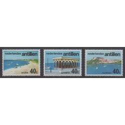 Antilles néerlandaises - 1976 - No 498/500 - Tourisme