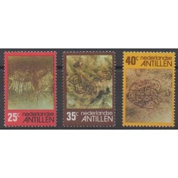 Netherlands Antilles - 1977 - Nb 514/516 - Various Historics Themes - Paintings