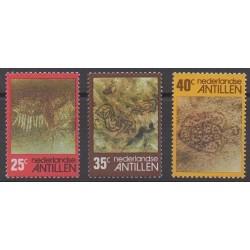 Antilles néerlandaises - 1977 - No 514/516 - Histoire - Peinture