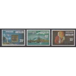 Antilles néerlandaises - 1976 - No 508/510 - Histoire