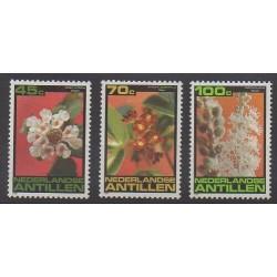 Antilles néerlandaises - 1981 - No 644/646 - Fleurs