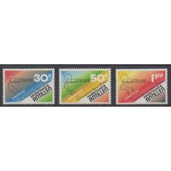Netherlands Antilles - 1981 - Nb 625/627 - Religion
