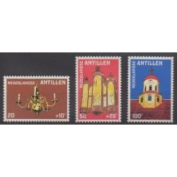 Antilles néerlandaises - 1980 - No 596/598 - Religion