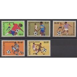 Netherlands Antilles - 1985 - Nb 739/743 - Football