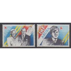 Aruba - 1987 - No 22/23 - Royauté - Principauté