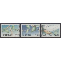 Aruba (Netherlands Antilles) - 1989 - Nb 57/59 - Flora