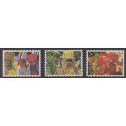 Aruba - 1989 - No 54/56 - Masques ou carnaval