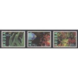 Aruba - 1990 - No 73/75 - Animaux marins