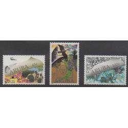 Aruba - 1990 - No 70/72 - Environnement