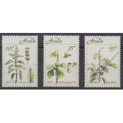 Aruba (Netherlands Antilles) - 1991 - Nb 92/94 - Flowers