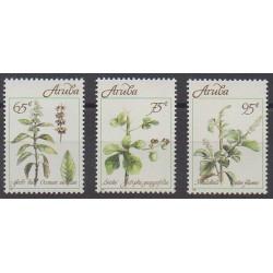 Aruba - 1991 - No 92/94 - Fleurs