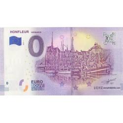 Euro banknote memory - 14 - Honfleur - 2018-1