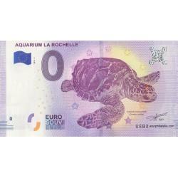 Billet souvenir - Aquarium de la Rochelle - 2018-3