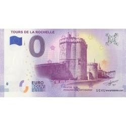 Euro banknote memory - 17 - Tours de La Rochelle - 2018-1