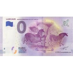 Euro banknote memory - 24 - Lascaux - Centre international de l'art parietal - 2018-4