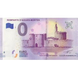 Euro banknote memory - 30 - Remparts d'Aigues-Mortes - 2018-1
